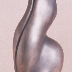 The Power of a Large Female Butt in Bronze Sculpture